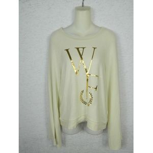 Wildfox Women's Jumper Bell Sleeve Sweatshirt Sz S